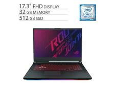 "ASUS ROG 17.3"" Gaming Laptop i7-9750H, GTX 1660 Ti, 32GB RAM, 512GB SSD"