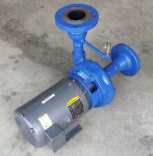 Goulds Pumps Model 3656, 7.5hp 1.5x2-8, 208-240/480V 3PH, 6.125 Imp w/ 3x3.5 Flg
