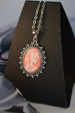 LOLITA ANTIQUE STYLE CAMEO NECKLACE  [13/1/37]