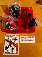 Optimus Transformers Construct Bots Ultimate Class E1:01 45 Pieces Hasbro New