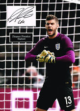 Fraser FORSTER SIGNED Autograph 16x12 Photo Mount AFTAL COA England Goalkeeper