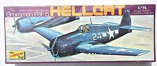 LINDBERG GRUMMAN F6F-5 HELLCAT 1:72 SCALE AIRPLANE MODEL KIT SEALED