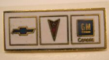 Tack Lapel Pin general motors -Chevrolet Pontiac Gm Canada Vintage Tie