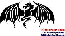 "Tribal Dragon #01 Decal Sticker JDM Funny Vinyl Car Window Bumper Truck Wall 12"""