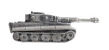 WW2 German Tiger I Tank Hand Made English Pewter Pin Badge