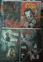 the Living Corpse LOT OF 8 BOOKS INCLUDES  VARIANTS   zenescope