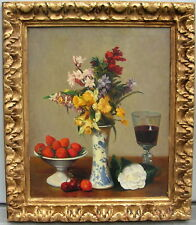 HENRI FANTIN-LATOUR (AFTER) BY STUDIO OF MIGUEL CANALS (SPAIN 1925-1995) GREAT!!