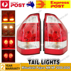 For Mitsubishi Pajero NM NP 2000-2006 A Pair of LH & RH Tail Light Rear Lamps