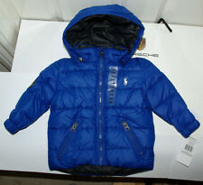 Brand New/tags Authentic Polo Ralph Lauren Harrods coat jacket boys  12-18 m