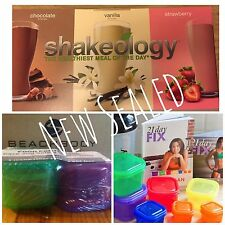 NEW Autumn Calabrese's 21 Day Fix  Essential Package, Fitness, Yoga + Shakeology