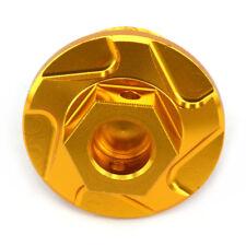 Gold Engine Oil Fill Plugs Screw Cap For Suzuki LT-R450(ATV) RMX450Z RMZ450