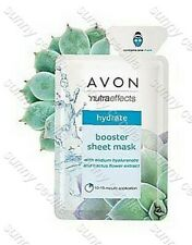 AVON True Nutra Effects HYDRATE Boosting Sheet Mask ANTIOXIDANT / CACTUS EXTRACT