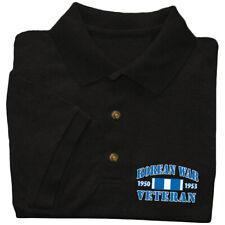 Sale: XL Men's - Korean War Veteran Vet Polo Tee Golf Shirt Gifts