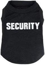 BINGPET Security Dog Shirt Summer Clothes for Pet Puppy T-Shirts Dogs Doggy Cost