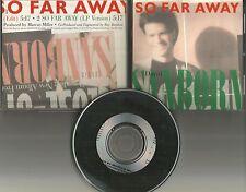 DAVID SANBORN So Far Away w/ RARE EDIT PROMO Radio DJ CD Single 1988 MINT USA