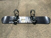 Palmer Pulse Snowboard 62 - SPI Series Bindings - Great condition FREE SHIPPING
