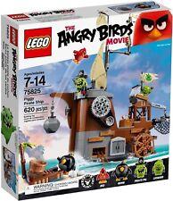 LEGO The Angry Birds Movie 75825 Piggy Pirate Ship (Brand New)