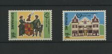(W0663) BUILDINGS, SURINAM, NVPH 507/08, SET, MNH/UM, SEE SCAN