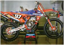 KTM 250 SX LUCAS OIL SUPERCROSS GIANT POSTER FOLDED motocross dirtbike Troy Lee