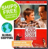 Extremely Loud Incredibly Close (DVD, 2012) NEW, Sandra Bullock, Tom Hanks