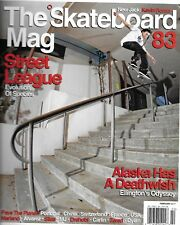 Skateboard Magazine Kevin Romar Street League Ellington Alaska odyssey Portugal