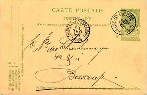 GP GOLDPATH: BELGIUM POSTAL CARD 1905 _CV628_P04