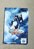 Wave Race 64 - Nintendo 64 N64 - Original MANUAL ONLY - Instruction Booklet