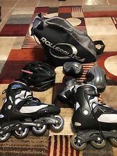 Bladerunner Advantage Pro Abec 7 Rollerblades Mens Size 13 Inline Skates Blue