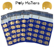 New listing Small Cute Elephant Poly Mailers ( Not Padded ) - 70+ Count