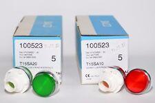 Meldeleuchte von BACO Typ T15SA10/-20 (100523) in Grün oder Rot, Pilot Light