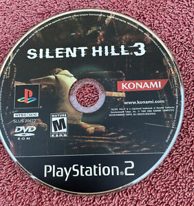 Silent Hill 3 (Sony PlayStation 2, 2003) PS2 Game DISC ONLY - UNTESTED