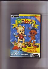 BABYZ : YOUR VIRTUAL BUNDLE OF JOY - BABY SIM PC GAME - FAST POST - COMPLETE VGC