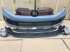 Golf MK6 GTI Complete Front Bumper 2009-2012 Fit TDI TSI GTI R20 UK Stock