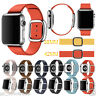 Modern Buckle Granada Leather Band Bracelet Strap for Apple Watch 1/2 38/42MM