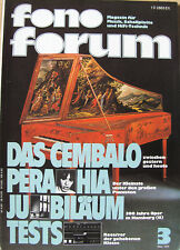 Fono Forum 3/78 Braun Regie 550, Telefunken TRX 2000, B&O 4400, Dual CT 1640