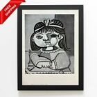 Pablo Picasso -Paloma, the Artist´s Daughter Original Hand Signed Print with COA