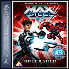 MAX STEEL UNLEASHED -  **BRAND NEW DVD **