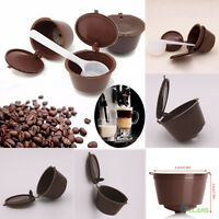 4pcs Reusable Refillable Coffee Capsule Pod Cup For Nescafe Dolce Gusto Holder A