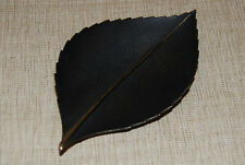 Carl Aubock Vienna Bronze Patinated Leaf Tray Excellent Condition MCM