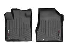 WeatherTech Floor Mats FloorLiner for Nissan Murano 2017.5-2019 1st Row Black
