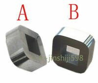 2pc Charmilles CNC EDM Wire Cut C001 Tungsten Power Feed Contact Block 100432997