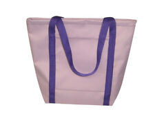 Ladies Tote,Lilac Purple Knitting Bag,Shopping Bag holds it all Made in U.S.A