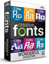 Summitsoft Creative Fonts Wonderful Collection Download & License Key - Windows