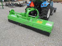 """87"""" Flail Mower,Mulcher Peruzzo HD Bull 2200: 70-100HP, 24""""L&R Offset, Cut4""""Dia!"""