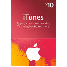 Apple iTunes Gift Card $10 USD - 10 Dollar United States Gift Card Voucher Fast