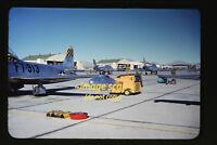 1950's USAF North American F-86 Sabre Aircraft air force afb, Original Slide a4a