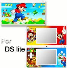 Super Mario VINYL SKIN STICKER COVER For DS LITE NDSL 3