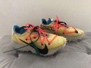 Authentic Nike Off White  Vapor Street Tour Athletic Sneakers Yellow Size 6.5