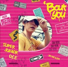 SUPER JUNIOR D&E 2nd Mini Album [Bout You] DONGHAE Ver. CD+Photobook+Photocard