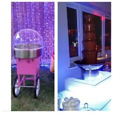 Chocolate Fountain & Candy Floss Machine Hire